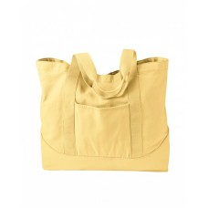 Authentic Pigment 1904 Totes - 14 oz. Pigment-Dyed Large Canvas Tote
