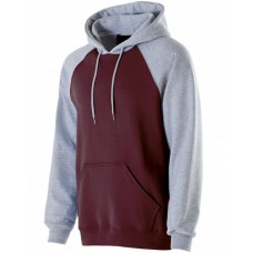 Adult Cotton/Poly Fleece Banner Hoodie