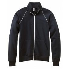 Bella + Canvas 3710 Jackets - Men's Piped Fleece Jacket