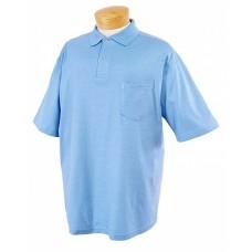 Jerzees 436P Polo Shirts - Adult 5.6 oz. SpotShield™ Pocket Jersey Polo