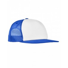 Yupoong 6005FW Hats - Foam Trucker with White Front Snapback