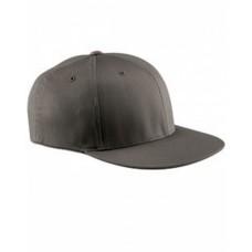 Flexfit 6297F Caps - Adult Wooly Twill Pro Baseball On-Field Shape Cap with Flat Bill