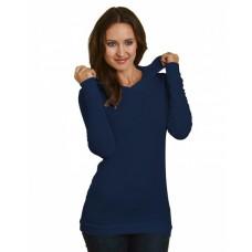 5 oz., Junior's Long-Sleeve Thermal Hoodie T-Shirt