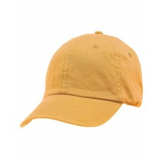 100% Washed Chino Cotton Twill Unstructured Cap
