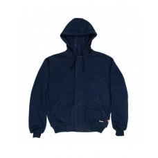 Berne FRSZ19 Sweatshirts - Men's Flame Resistant Full-Zip Hooded Sweatshirt
