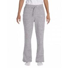 Gildan G184FL Pants - Ladies' Heavy Blend™ Ladies' 8 oz., 50/50 Open-Bottom Sweatpants