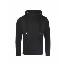 Just Hoods By AWDis JHA021 Sweatshirts - Men's 80/20 Heavyweight Cross Over Neck Hooded Sweatshirt