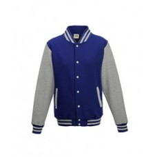 Just Hoods By AWDis JHA043 Jackets - Men's 80/20 Heavyweight Letterman Jacket