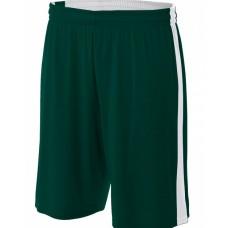 A4 N5284 Shorts - Adult Reversible Moisture Management Shorts
