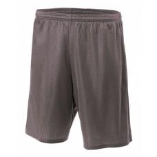 A4 N5296 Shorts - Adult Nine Inch Inseam Mesh Short