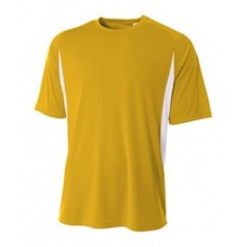 A4 NB3181 Tees - Youth Cooling Performance Color Blocked T-Shirt