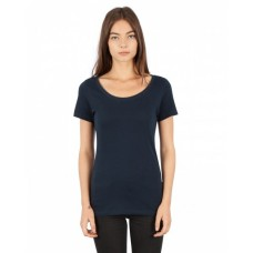 Simplex Apparel Drop Ship SI1030 Tees - Ladies' Combed Ring-Spun Cotton Scoop T-Shirt