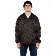 Unisex Nylon 3-Dimensional Coaches Jacket